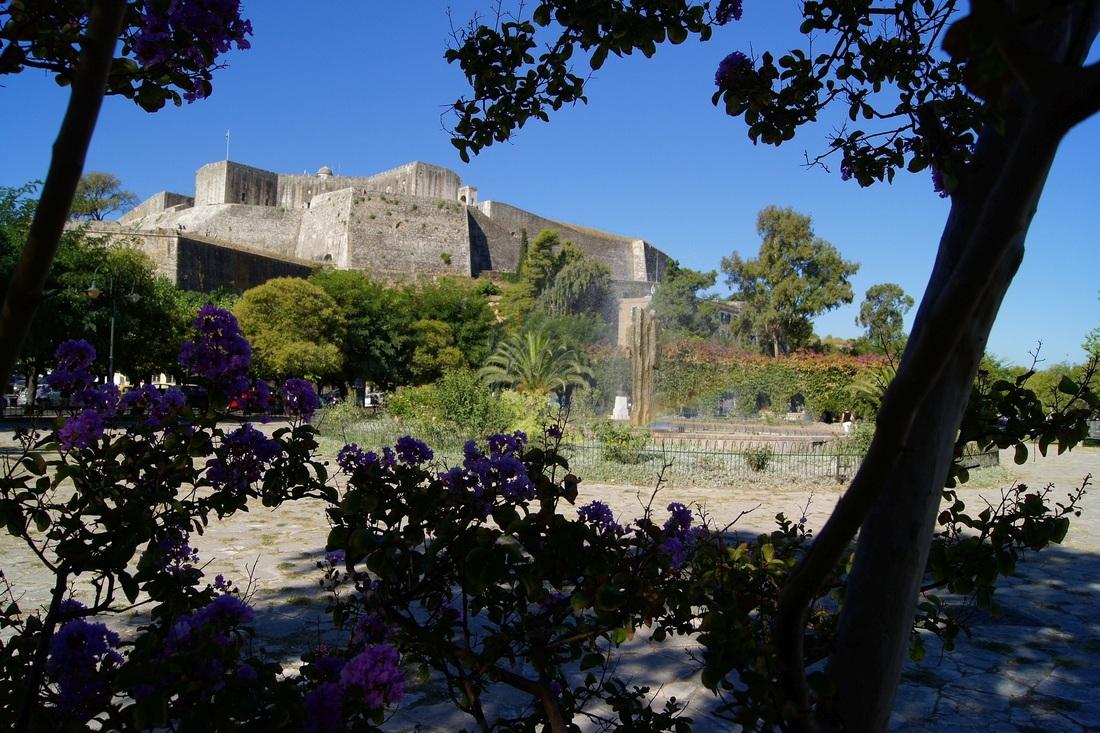 New Fortress corfu town