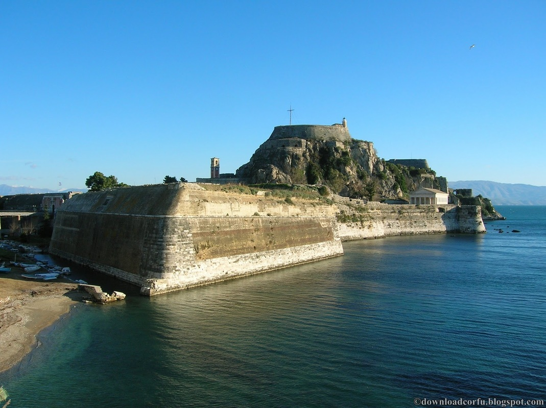 Old fortress corfu town